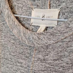 Lou & Grey Dresses - Heather Grey racerback midi dress